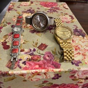 Lot of 3 old / vintage watches